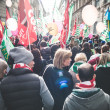 National Strike of tourism in Milan on October, 31 2013 — Stock Photo #34601711