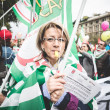 National Strike of tourism in Milan on October, 31 2013 — Stock Photo #34601781