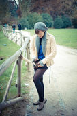 Mladá krásná žena — Stock fotografie