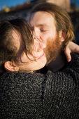 Paar in liebe — Stockfoto