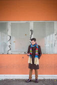 Young stylish man — Stock Photo