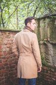 Moda model man — Stok fotoğraf