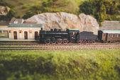 Staré vlaky vklad — Stock fotografie