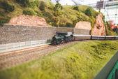 Old trains deposit — Stock Photo