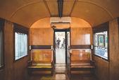 Old trains deposit — Foto Stock