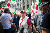 Celebration of liberation of  Italy — Foto Stock