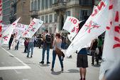 Celebration of liberation of  Italy — Stock fotografie