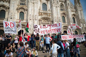 Celebration of liberation of  Italy — Foto de Stock