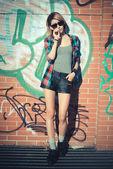 Young beautiful model woman — Stock Photo