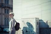 Hipster kadın — Stok fotoğraf