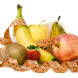 Royalty-Free Stock Photo: Composition of fruit, concept of balanced diet