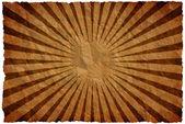 Crumple paper background rays — Stock Photo