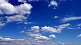 Blue sky and clouds — Foto de Stock