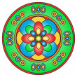 Colored mandala — Stock Photo
