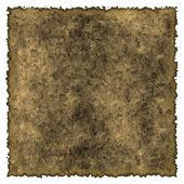 Old burned edges parchment — Stock Photo