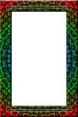 Maya fantasy portrait frame — Stock Photo