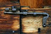さびたボルトのクローズ アップ — ストック写真