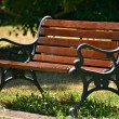 Old style bench — Stock Photo