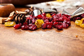 Candied and metal tips — Stock Photo