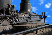 Locomotiva closeup — Foto Stock