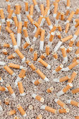 Cigarettes chaos from above — Stock Photo