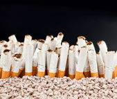 Wall of cigarettes — Stockfoto