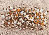 Cigarettes rectangle from above — Stock Photo