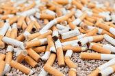 Fallen cigarettes chaos — Stock Photo