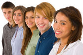 Group of teenagers — Stock Photo