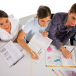 Stock Photo: Teenagers in classroom