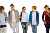 Genç öğrenci grubu — Stok fotoğraf