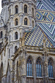 Stephan Catedral in Vienna — Stock Photo