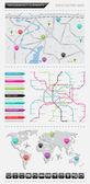Infographics element — Stockvektor