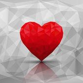 Miłość nowoczesny streszczenie styl tło — Wektor stockowy