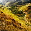 Stock Photo: Painting of Sani Pass