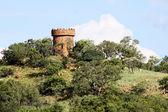 исторический замок гвардии башня в форме — Стоковое фото