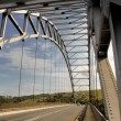 Stock Photo: Arch Bridge Over MtamvumRiver Close-up