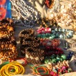 Stock Photo: Native Craft Nacklaces and Bracelets