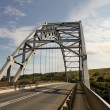 Stock Photo: Arch Bridge Over MtamvumRiver