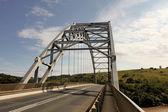 Arch Bridge Over Mtamvuma River — Stock Photo