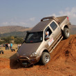 Gold GWM Steed on 4x4 Course — Stock Photo