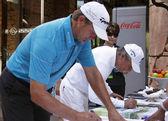 Goosen retief i zleceniodawcy gary pro golfistów — Zdjęcie stockowe