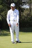 Gracz gary golfa pro — Zdjęcie stockowe