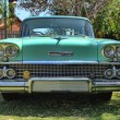 1958 Chevrolet Biscayne 4 Door front view — Stock Photo #38730747