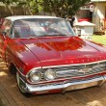 1960 Chevrolet Impala Bubble Top — Stock Photo #41112243