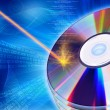 Royalty-Free Stock Photo: CD / DVD burning concept