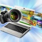 fotografia & conceito de partilha de imagens — Fotografia Stock  #14226213