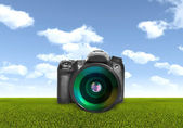 Camera and Photography — Stock Photo