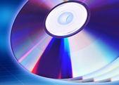Blank CD / DVD — 图库照片