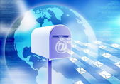 Internet Mail Concept — Stock Photo
